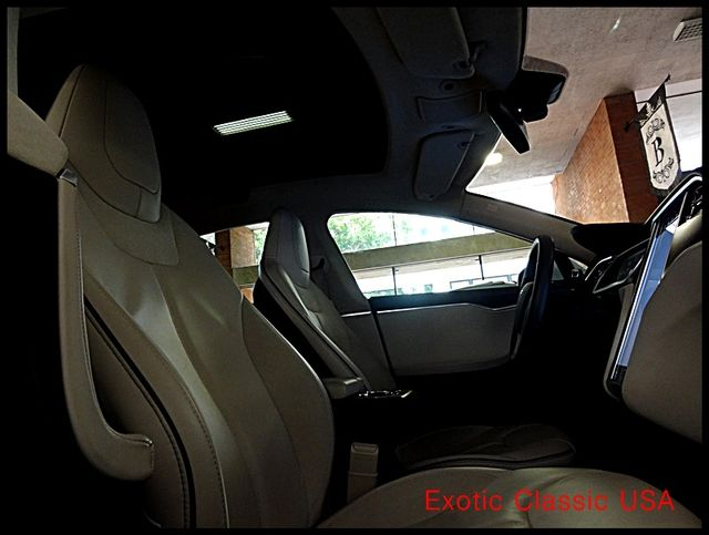 2012 Tesla Model S Signature Performance autographed by Elon Musk San Diego, California 86