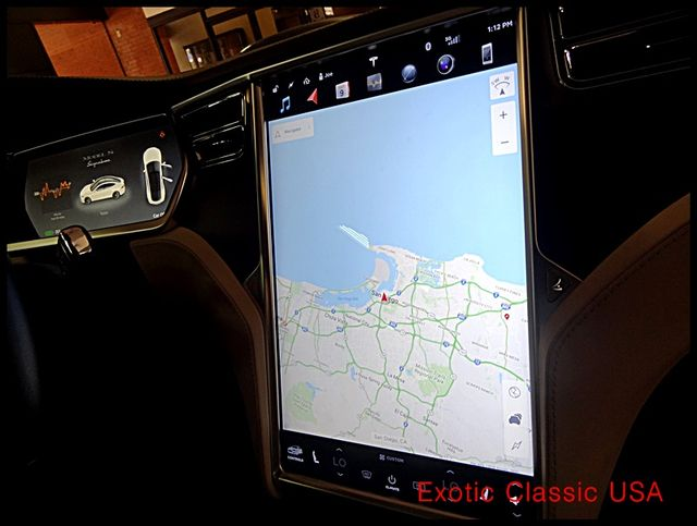 2012 Tesla Model S Signature Performance autographed by Elon Musk San Diego, California 88