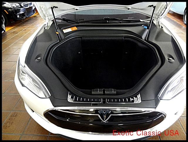 2012 Tesla Model S Signature Performance autographed by Elon Musk San Diego, California 90