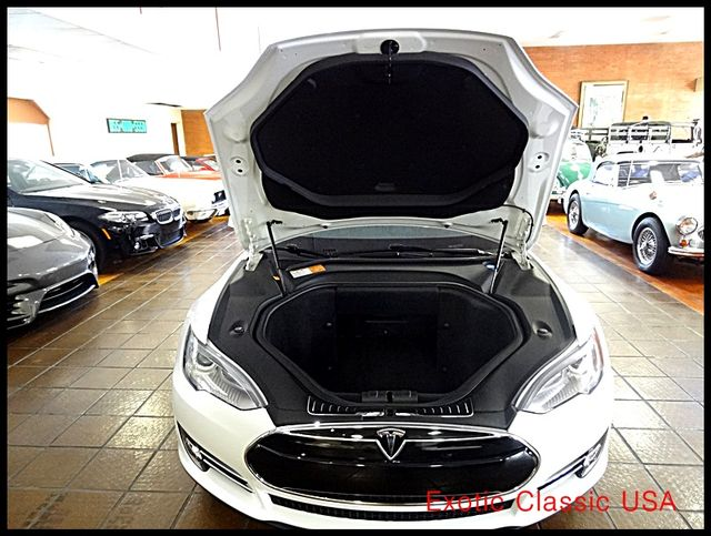 2012 Tesla Model S Signature Performance autographed by Elon Musk San Diego, California 91