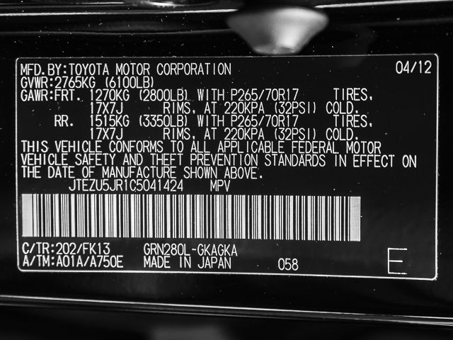 2012 Toyota 4Runner SR5 Burbank, CA 28
