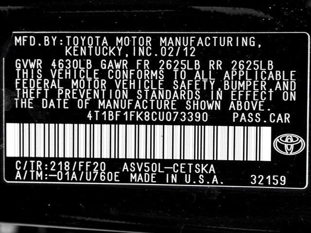 2012 Toyota Camry SE Burbank, CA 23
