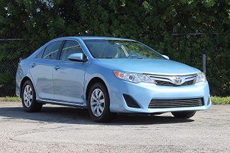 2012 Toyota Camry LE Hollywood, Florida 1