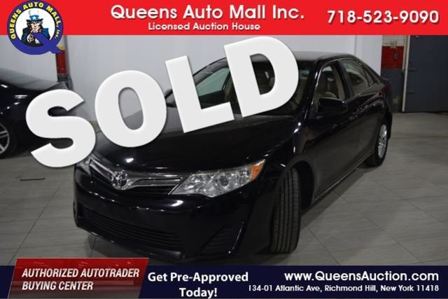 2012 Toyota Camry 4dr Sdn I4 Auto SE (GS) Richmond Hill, New York 0