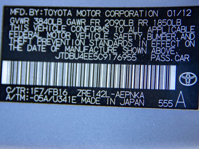 2012 Toyota Corolla L Burbank, CA 31