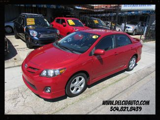 2012 Toyota Corolla S, Gas Saver! Clean CarFax! Financing Available! New Orleans, Louisiana