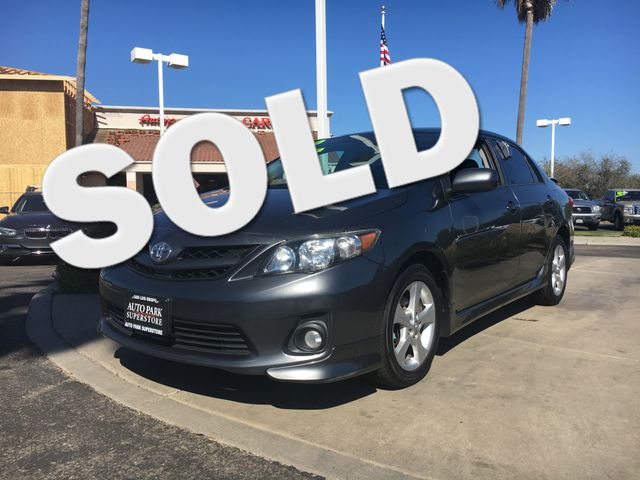 2012 Toyota Corolla S Youll have change leftover when filling up this fuel efficient ride VIN