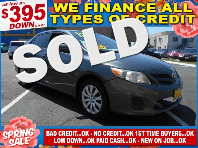 2012 TOYOTA COROLLA LE Limited warranty included to assure your worry-free purchase AutoCheck rep
