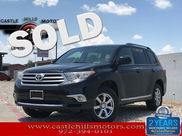 2012 Toyota Highlander in Lewisville Texas