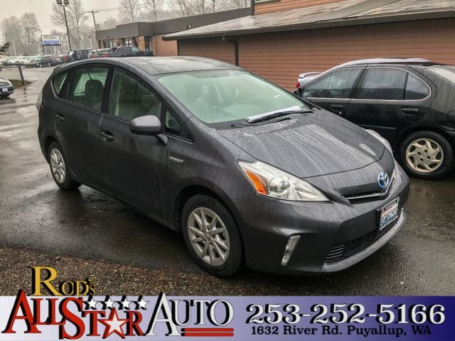2012 Toyota Prius v Five This vehicle is a CarFax certified one-owner used car Pre-owned vehicles