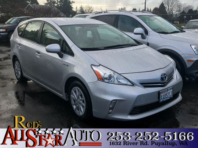 2012 Toyota Prius v Five The CARFAX Buy Back Guarantee that comes with this vehicle means that you