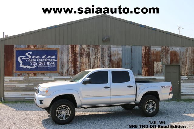 2012 Toyota Tacoma Crew Cab Sr5 Trd Off Road Pkg V6 LOADED  TWO OWNER CLEAN CARFAX SERVICED DETAILED READY TO GEAUX   Baton Rouge , Louisiana   Saia Auto Consultants LLC in Baton Rouge  Louisiana
