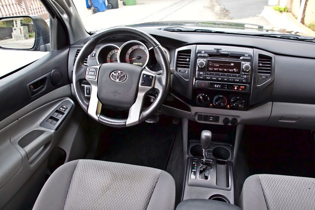 2012 Toyota TACOMA PRERUNNER DOUBLE CREW CAB AUTOMATIC ONLY 53K MLS 1-OWNER Woodland Hills, CA 22