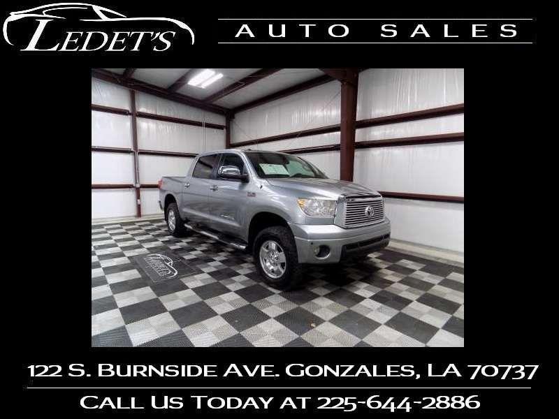 2012 Toyota Tundra LTD TRD - Ledet's Auto Sales Gonzales_state_zip in Gonzales Louisiana