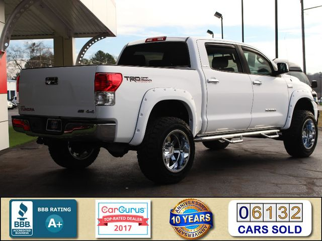 2012 Toyota Tundra LTD CrewMax 4x4 TRD OFF-ROAD - LIFTED Mooresville , NC 2