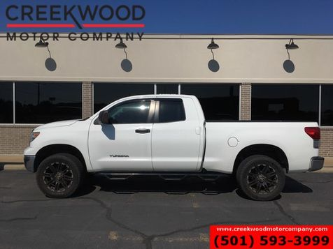 2012 Toyota Tundra Base SR5 Double Cab 2wd Black 20s Cloth White NICE in Searcy, AR