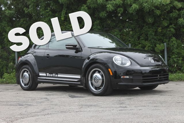 2012 Volkswagen Beetle 25L PZEV  WARRANTY CARFAX CERTIFIED GAS SAVER TRADES WELCOME  Th