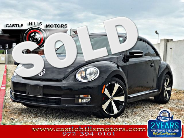 2012 Volkswagen Beetle 2.0T Turbo w/Sun/Sound | Lewisville, Texas | Castle Hills Motors in Lewisville Texas