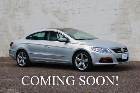 2012 Volkswagen CC Luxury Plus 2.0T Turbo w/Navigation, Backup Cam, Panoramic Roof & Gorgeous 2-Tone Interior in Eau Claire