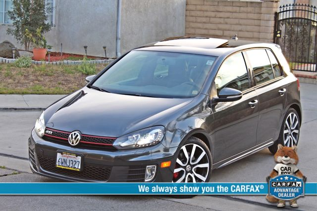 2012 Volkswagen GTI AUTOBAHN 2.0T NAVIGATION 1-OWNER LEATHER MANUAL ALLOY WHLS SERVICE RECORDS! Woodland Hills, CA 0