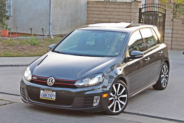 2012 Volkswagen GTI AUTOBAHN 2.0T NAVIGATION 1-OWNER LEATHER MANUAL ALLOY WHLS SERVICE RECORDS! Woodland Hills, CA 12