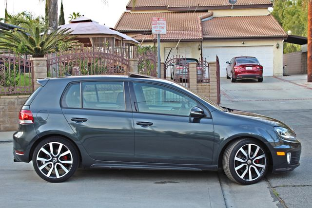 2012 Volkswagen GTI AUTOBAHN 2.0T NAVIGATION 1-OWNER LEATHER MANUAL ALLOY WHLS SERVICE RECORDS! Woodland Hills, CA 8