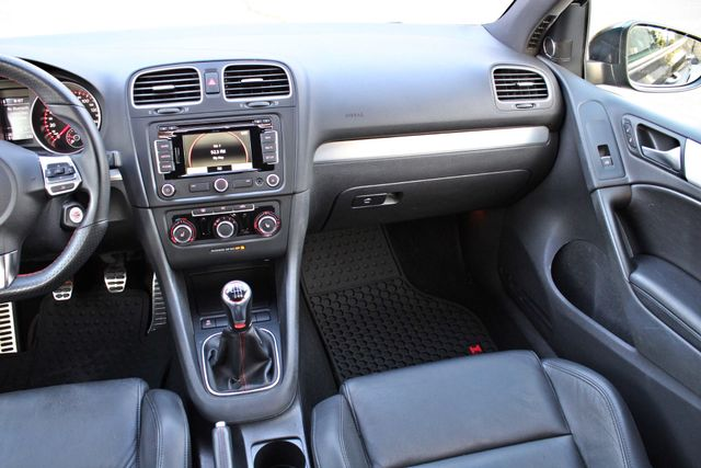 2012 Volkswagen GTI AUTOBAHN 2.0T NAVIGATION 1-OWNER LEATHER MANUAL ALLOY WHLS SERVICE RECORDS! Woodland Hills, CA 23