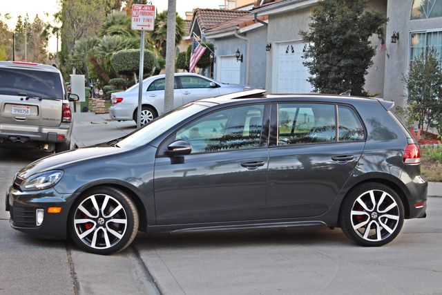 2012 Volkswagen GTI AUTOBAHN 2.0T NAVIGATION 1-OWNER LEATHER MANUAL ALLOY WHLS SERVICE RECORDS! Woodland Hills, CA 2