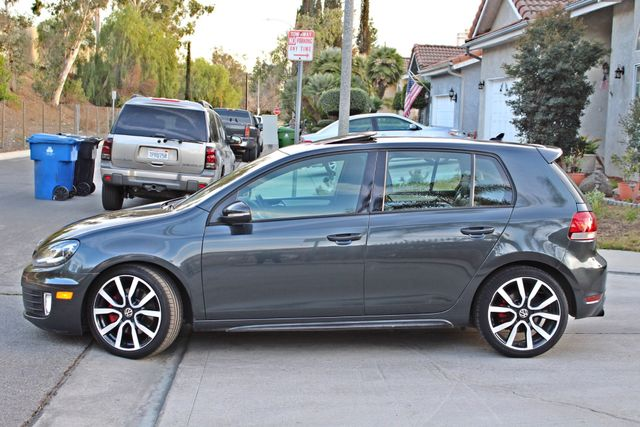2012 Volkswagen GTI AUTOBAHN 2.0T NAVIGATION 1-OWNER LEATHER MANUAL ALLOY WHLS SERVICE RECORDS! Woodland Hills, CA 3
