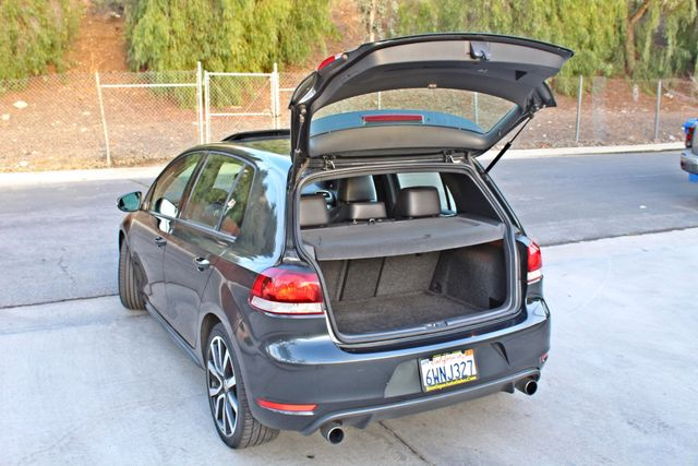 2012 Volkswagen GTI AUTOBAHN 2.0T NAVIGATION 1-OWNER LEATHER MANUAL ALLOY WHLS SERVICE RECORDS! Woodland Hills, CA 13
