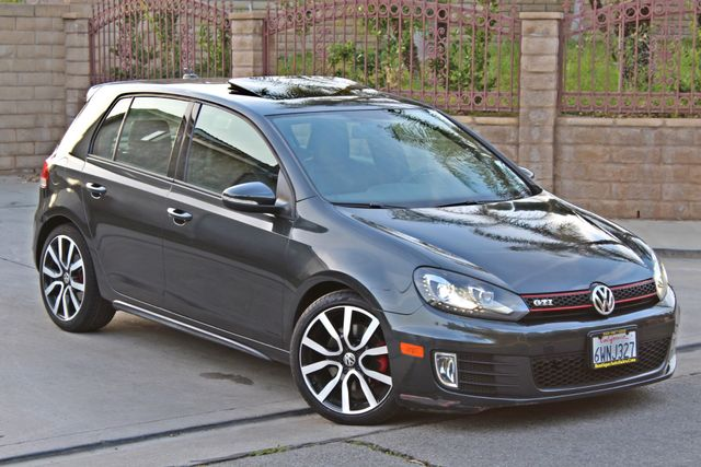 2012 Volkswagen GTI AUTOBAHN 2.0T NAVIGATION 1-OWNER LEATHER MANUAL ALLOY WHLS SERVICE RECORDS! Woodland Hills, CA 9