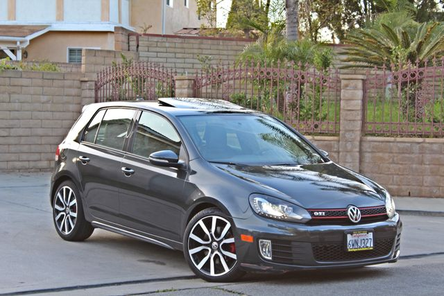 2012 Volkswagen GTI AUTOBAHN 2.0T NAVIGATION 1-OWNER LEATHER MANUAL ALLOY WHLS SERVICE RECORDS! Woodland Hills, CA 10