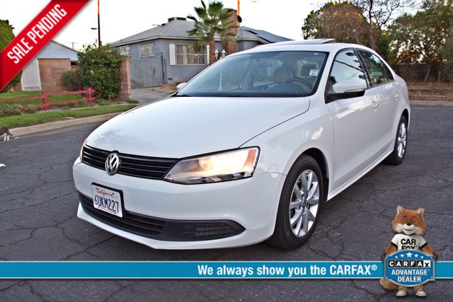 2012 Volkswagen JETTA SE W/CONVENIENCE ONLY 85K MLS SUNROOF LEATHER SERVICE RECORDS! Woodland Hills, CA 0