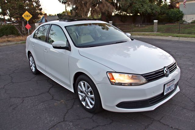 2012 Volkswagen JETTA SE W/CONVENIENCE ONLY 85K MLS SUNROOF LEATHER SERVICE RECORDS! Woodland Hills, CA 6