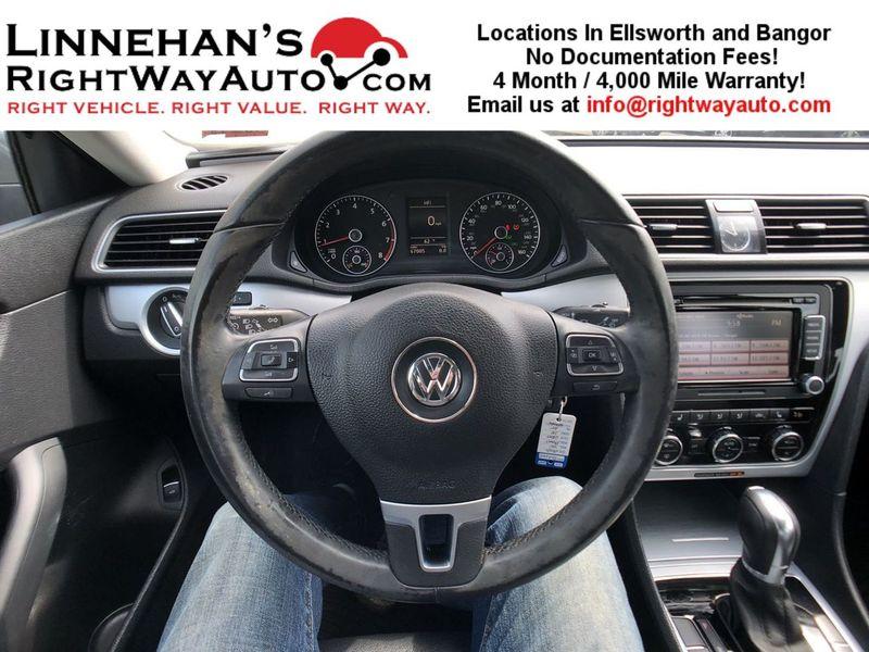 2012 Volkswagen Passat SE  in Bangor, ME