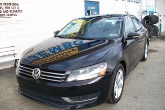 2012 Volkswagen Passat SE w/Sunroof Bentleyville, Pennsylvania 1