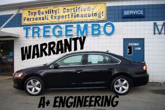 2012 Volkswagen Passat SE w/Sunroof Bentleyville, Pennsylvania 2