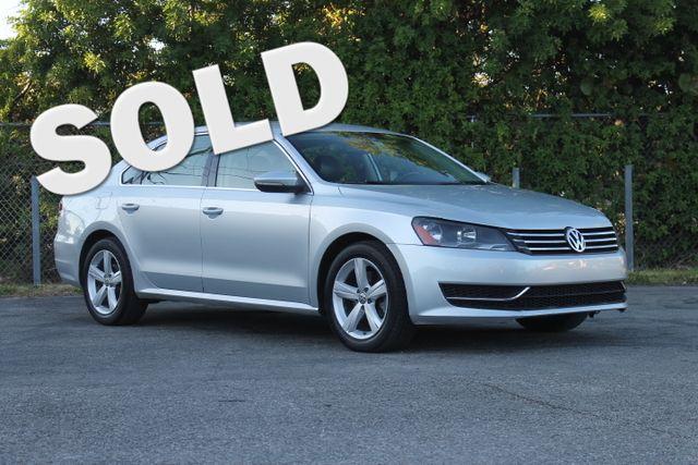 2012 Volkswagen Passat SE  WARRANTY CARFAX CERTIFIED 1 OWNER 10 SERVICE RECORDS FLORIDA VEH