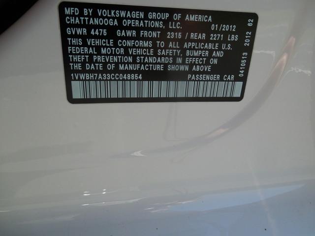 2012 Volkswagen Passat SE w/Sunroof  Nav Leesburg, Virginia 22