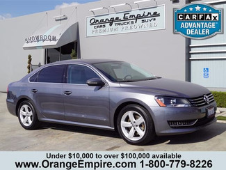 2012 Volkswagen Passat SE w/Sunroof & Nav PZEV Orange, CA