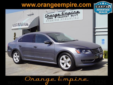2012 Volkswagen Passat SE w/Sunroof & Nav PZEV in Orange, CA