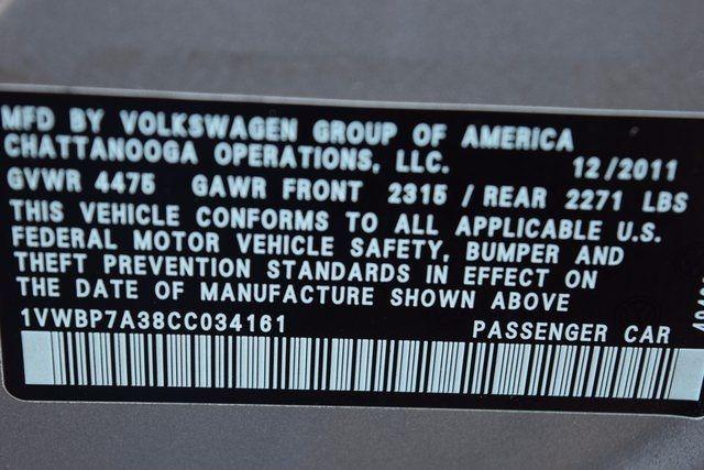 2012 Volkswagen Passat SE w/Sunroof & Nav PZEV Richmond Hill, New York 16