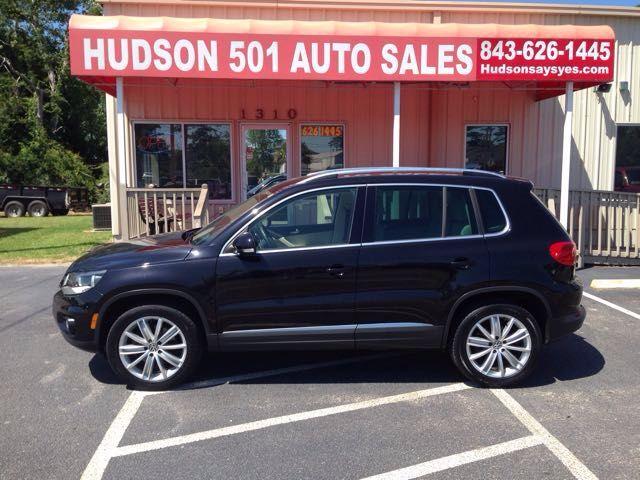 2012 Volkswagen Tiguan SE | Myrtle Beach, South Carolina | Hudson Auto Sales in Myrtle Beach South Carolina