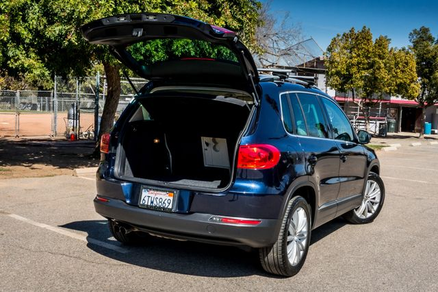 2012 Volkswagen Tiguan SEL w/Sunroof & Nav Reseda, CA 11