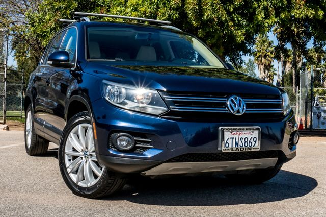2012 Volkswagen Tiguan SEL w/Sunroof & Nav Reseda, CA 40