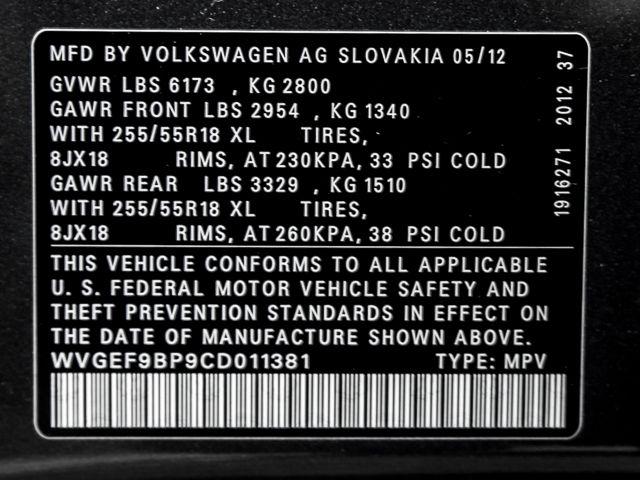 2012 Volkswagen Touareg Sport w/Nav Burbank, CA 24