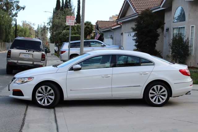 2012 Volkswagens CC SPORT PKG DSG AUTOMATIC ONLY 63K MLS LEATHER SERVICE RECORDS NEW TIRES Woodland Hills, CA 3