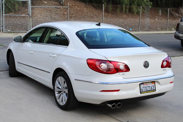 2012 Volkswagens CC SPORT PKG DSG AUTOMATIC ONLY 63K MLS LEATHER SERVICE RECORDS NEW TIRES Woodland Hills, CA 4
