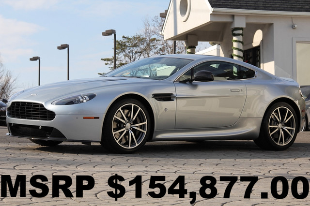 2013 ASTON MARTIN V8 Vantage 2dr Coupe AMFM CD Player CD Changer Anti-Theft AC Power Locks P