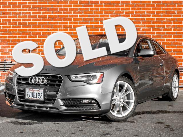 2013 Audi A5 Coupe Premium Plus Burbank, CA 0